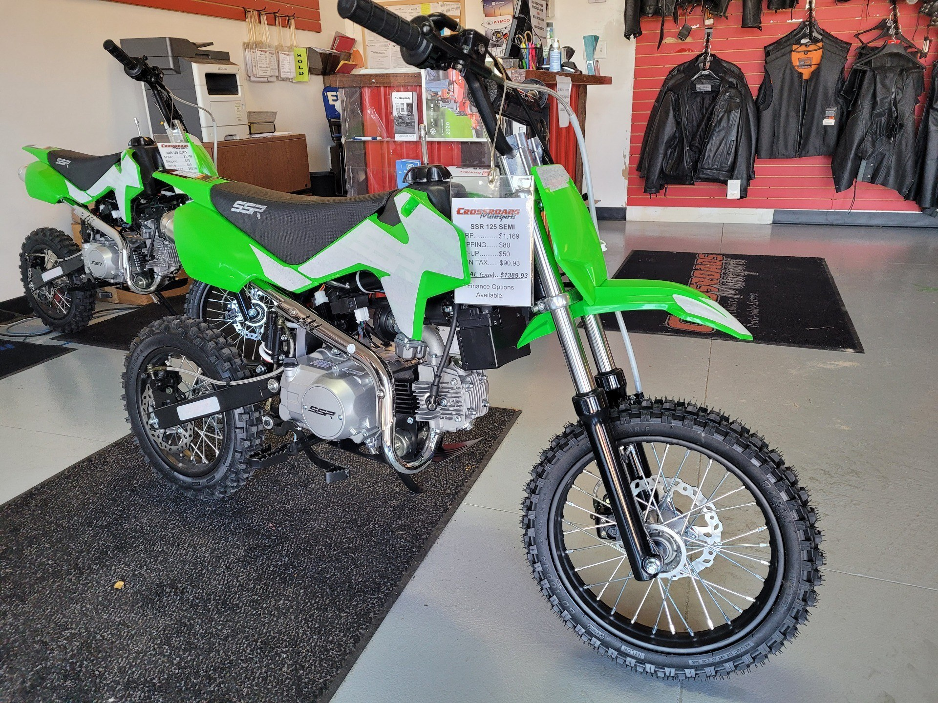 2021 SSR Motorsports SR125 Auto in Lafayette, Indiana - Photo 5