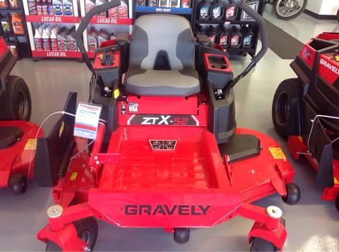 2019 Gravely USA ZT X 52 Kawasaki Zero Turn Mower in Lafayette, Indiana - Photo 2