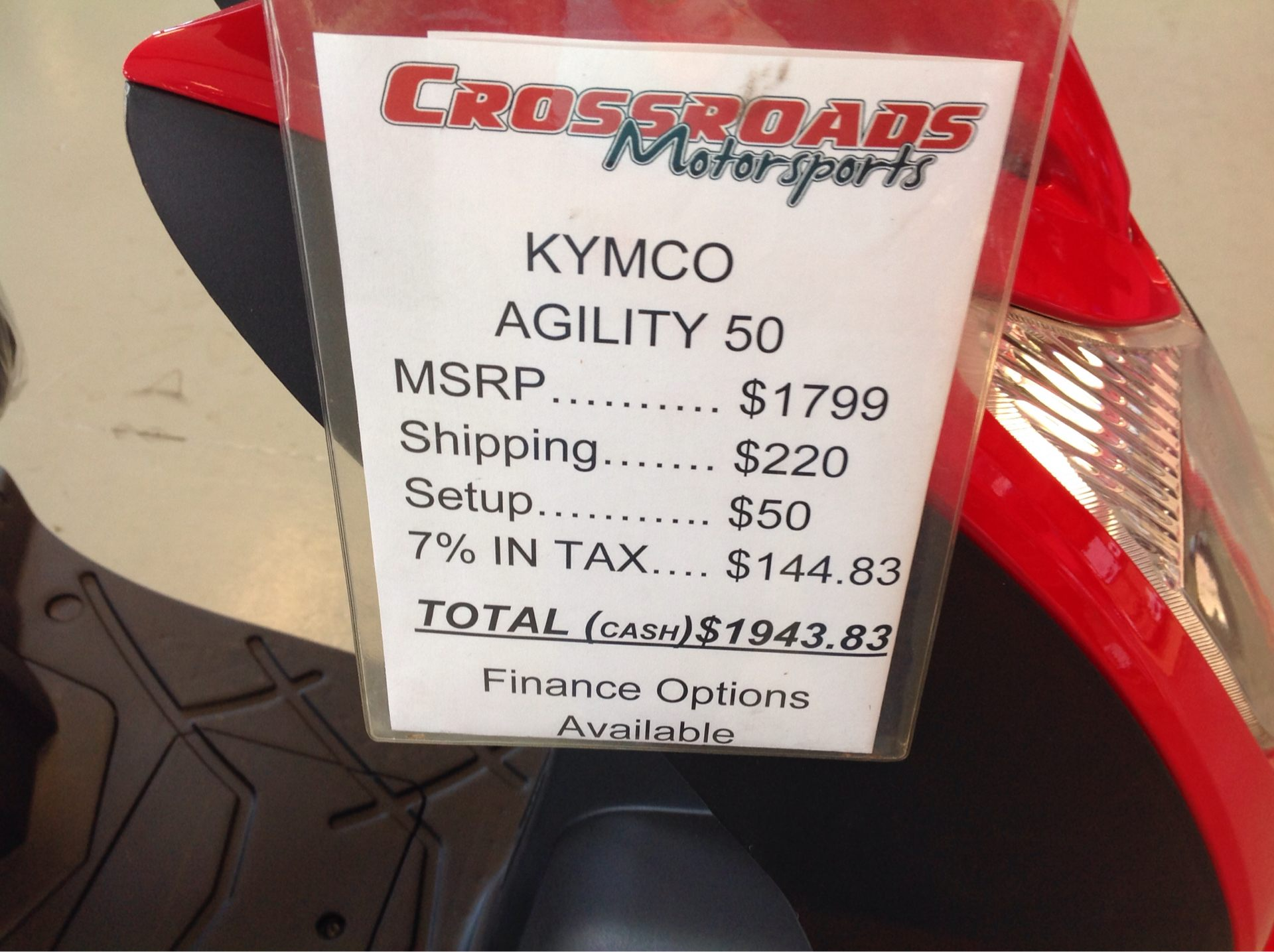 2020 Kymco Agility 50 in Lafayette, Indiana - Photo 7