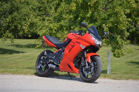 2008 Kawasaki Ninja® 650R in Traverse City, Michigan