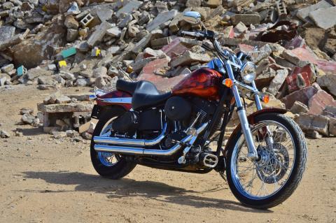 2005 Harley-Davidson FXSTB/FXSTBI Softail® Night Train® in Traverse City, Michigan