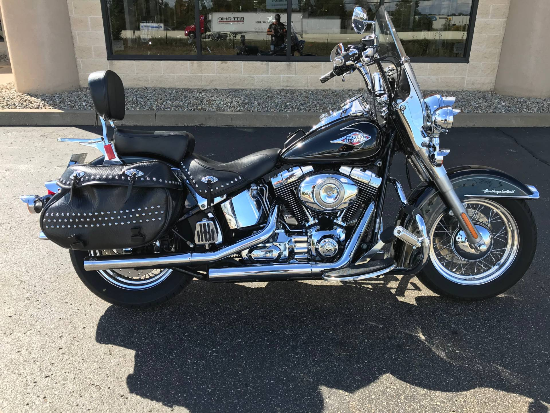 2009 Harley-Davidson FLSTC Heritage Softail® Classic in North Canton, Ohio - Photo 1