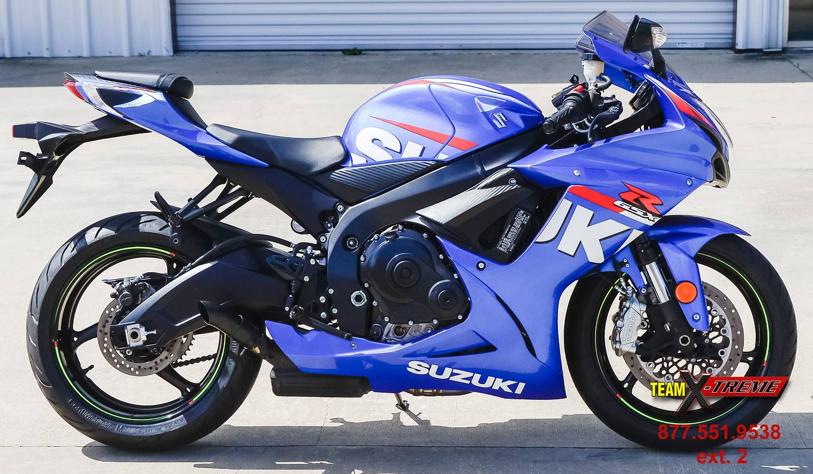 2016 Suzuki GSX-R600 in Houston, Texas - Photo 3