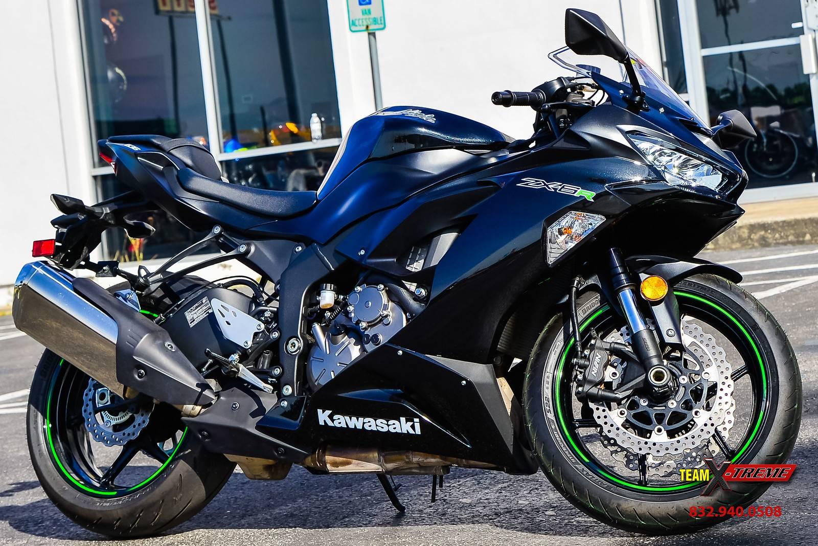 Used 2019 Kawasaki Ninja Zx 6r Motorcycles In Houston Tx Stock