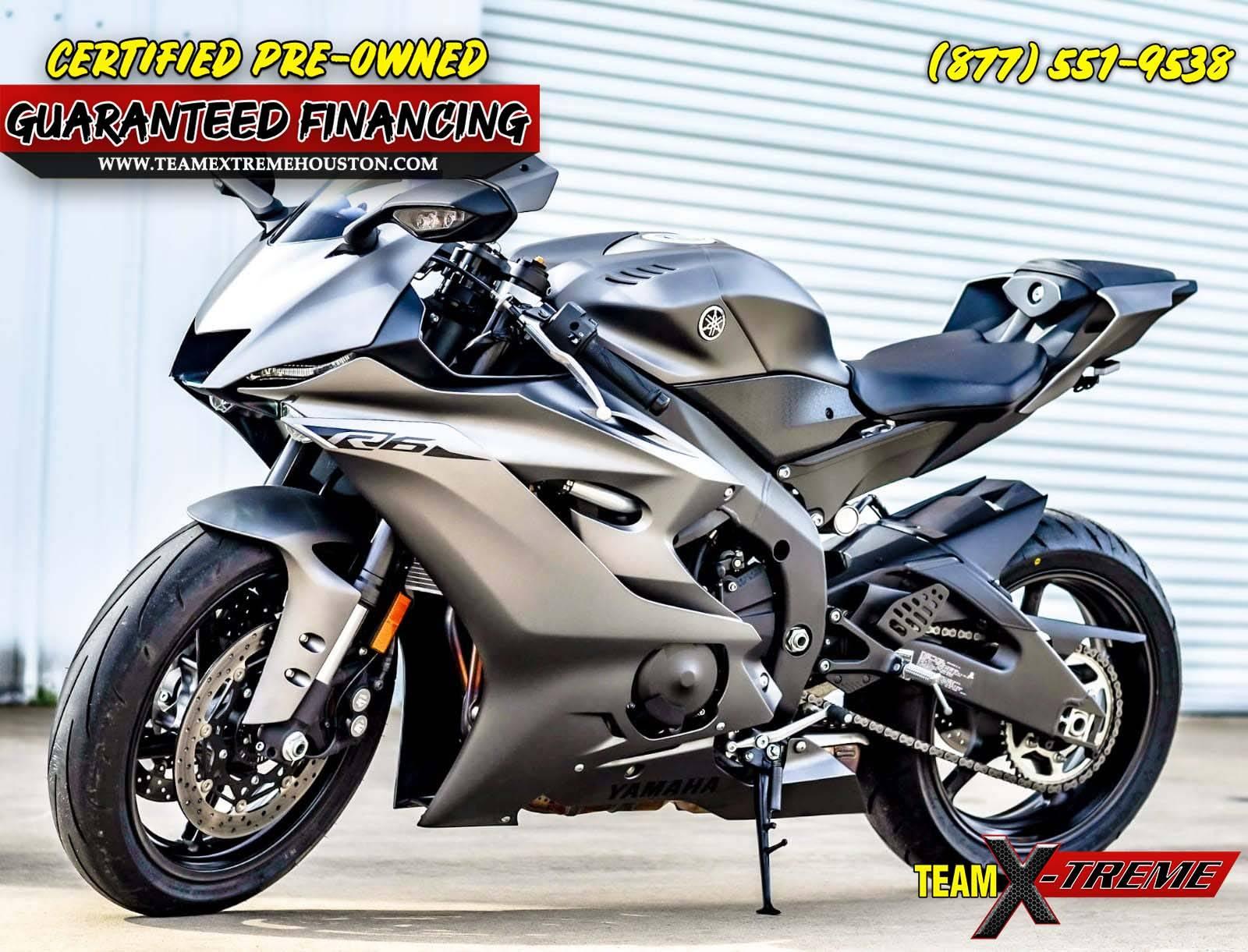 2018 Yamaha YZF-R6 3