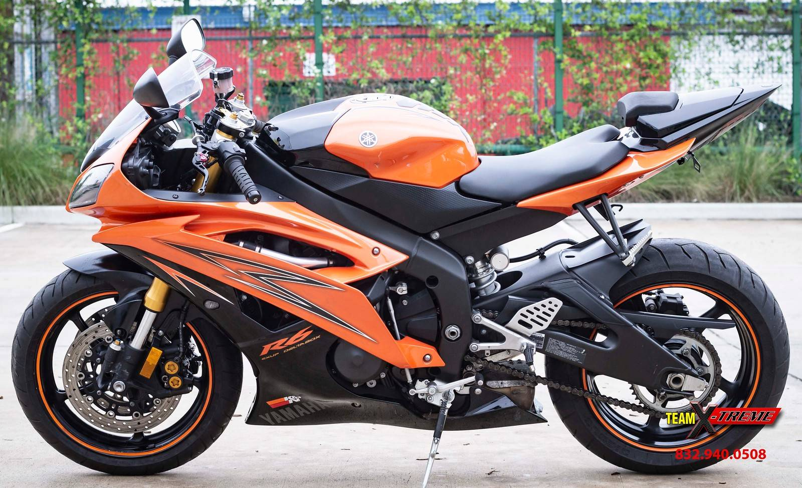 2009 Yamaha YZF-R6 6