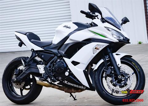 2017 Kawasaki Ninja 650 in Houston, Texas