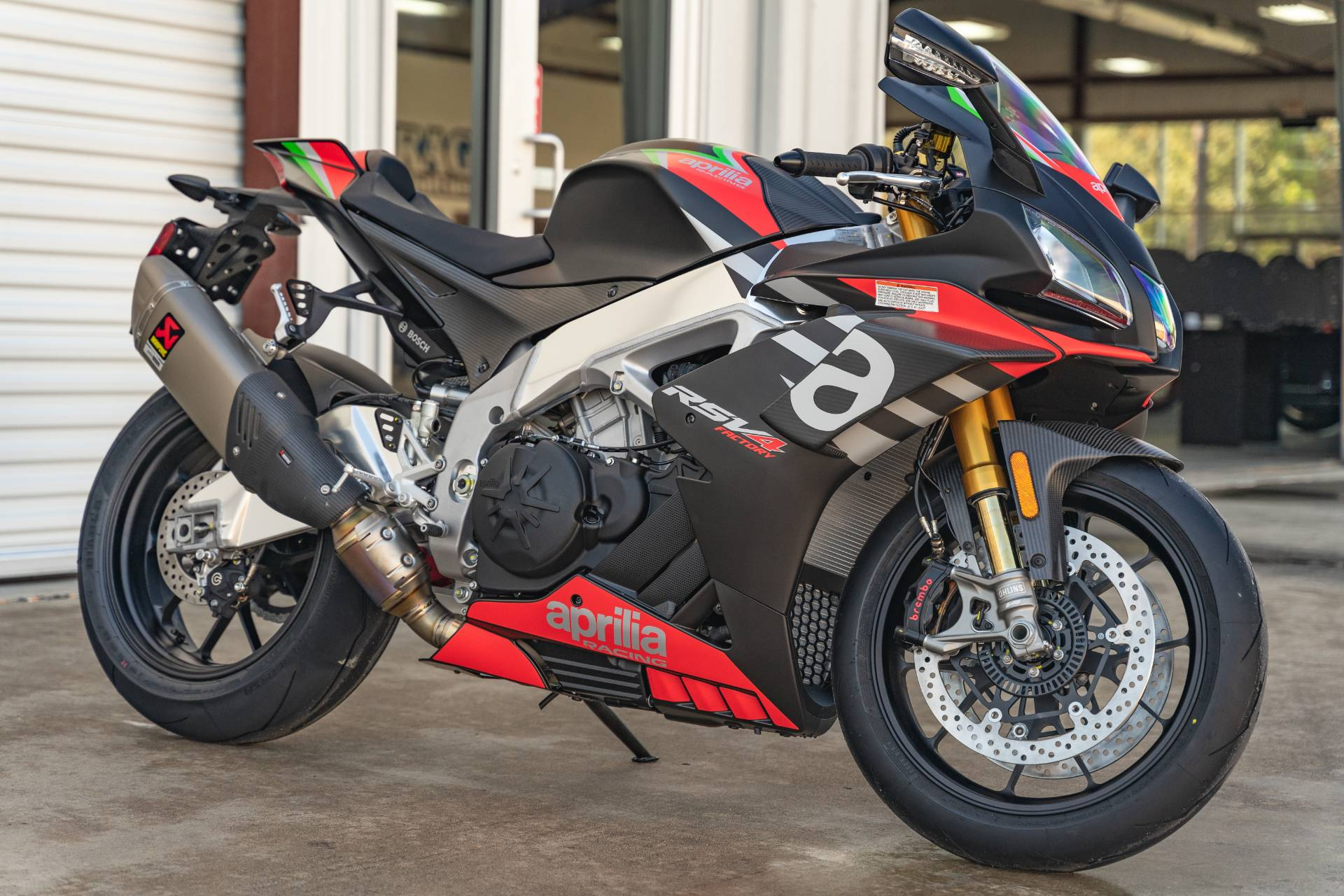 2020 Aprilia RSV4 1100 Factory in Houston, Texas - Photo 1