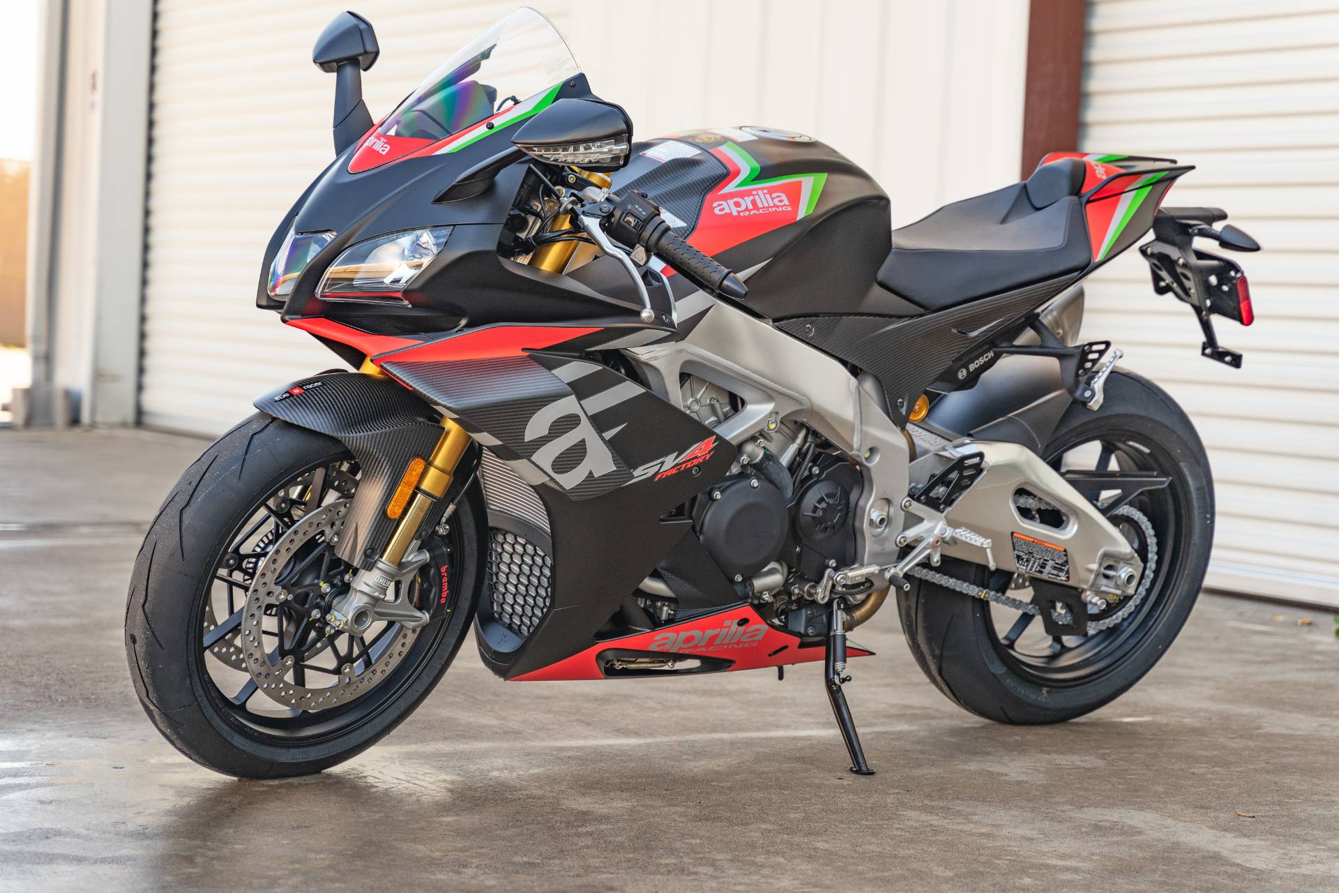 2020 Aprilia RSV4 1100 Factory in Houston, Texas - Photo 4