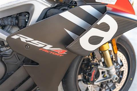 2020 Aprilia RSV4 1100 Factory in Houston, Texas - Photo 19