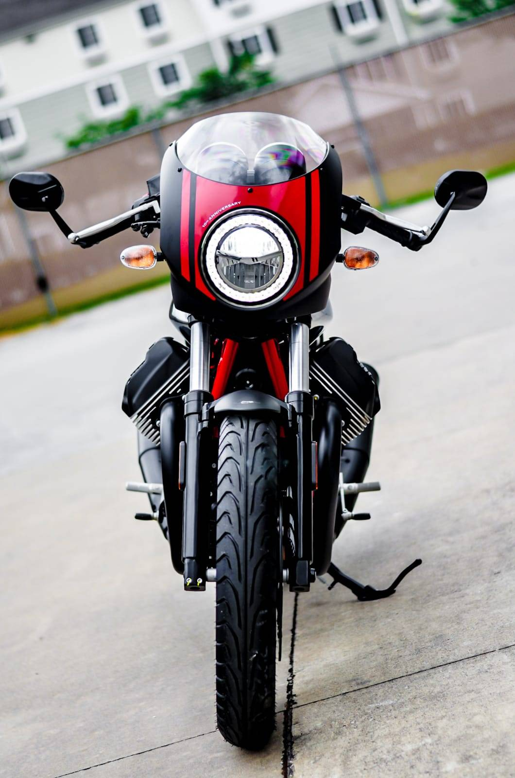 2020 Moto Guzzi V7 III Racer 10th Anniversary in Houston, Texas - Photo 2