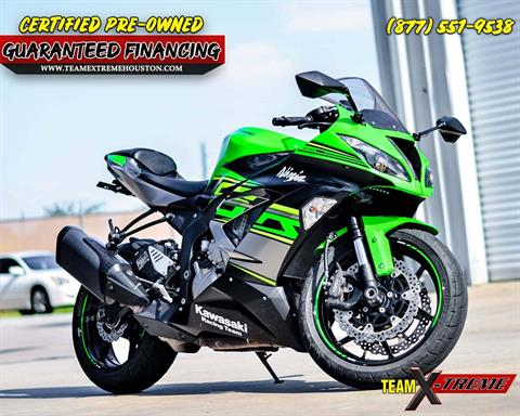 2018 Kawasaki Ninja ZX-6R in Houston, Texas - Photo 1