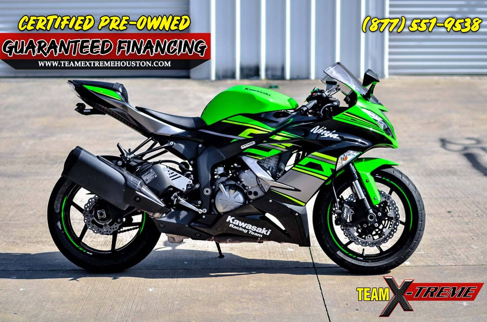2018 Kawasaki Ninja ZX-6R in Houston, Texas - Photo 3