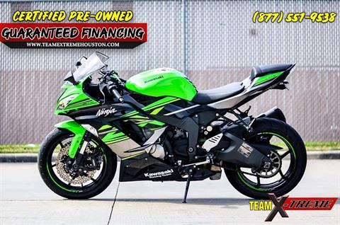 2018 Kawasaki Ninja ZX-6R in Houston, Texas - Photo 4