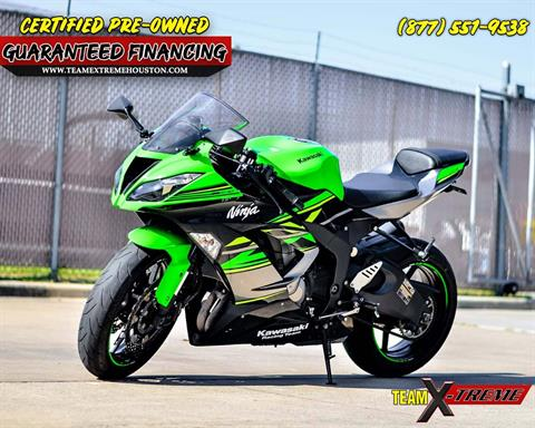 2018 Kawasaki Ninja ZX-6R in Houston, Texas - Photo 5