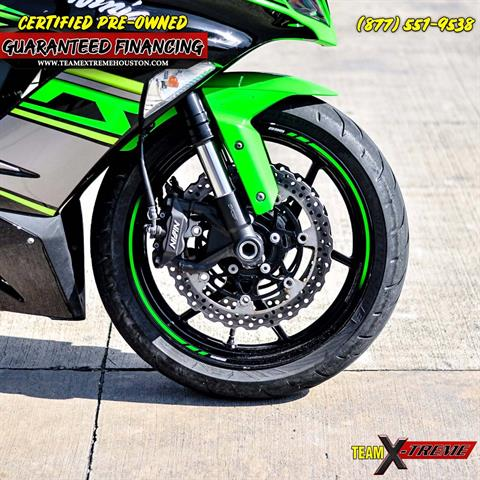 2018 Kawasaki Ninja ZX-6R in Houston, Texas - Photo 8