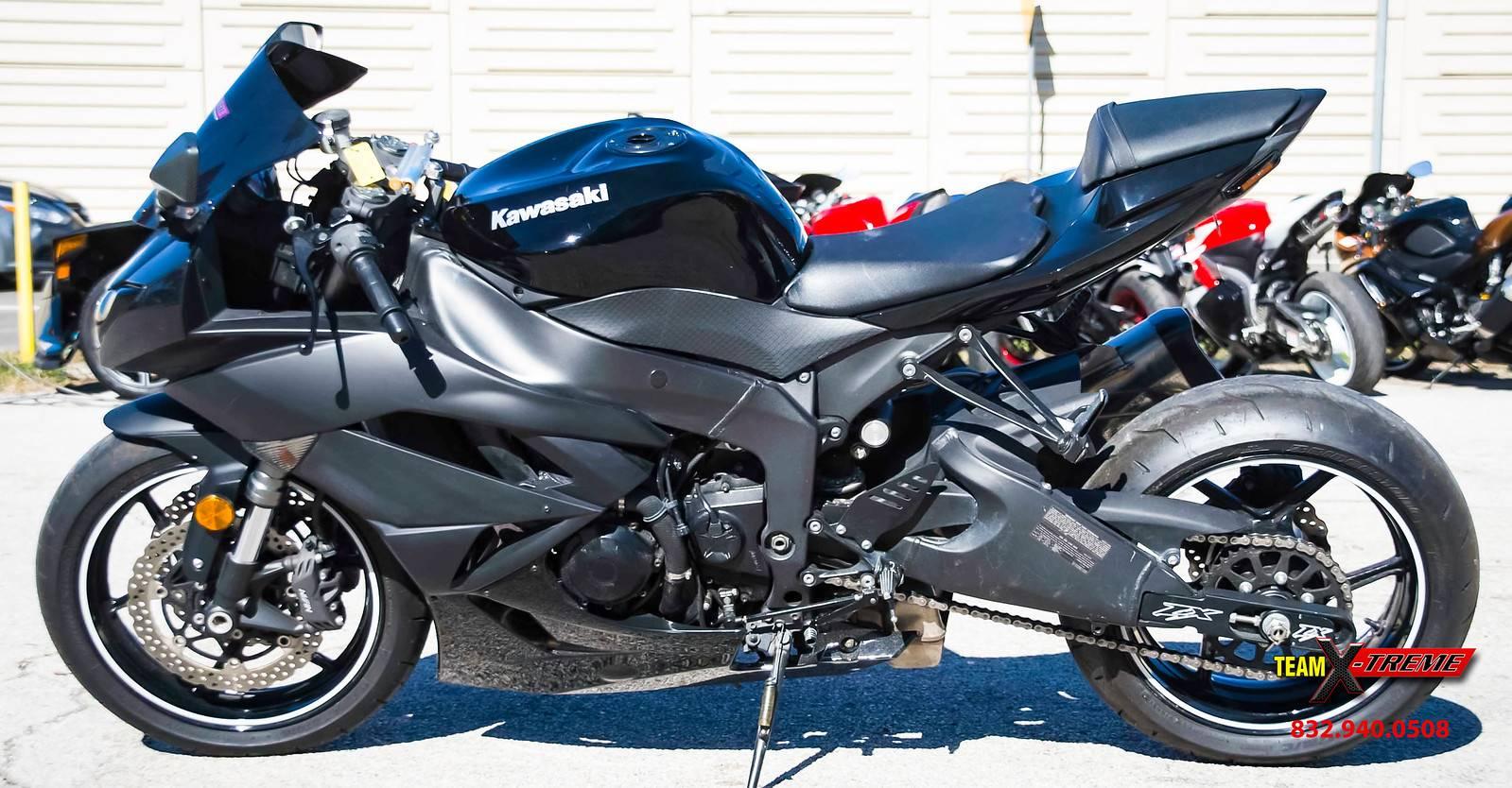 2009 Kawasaki Ninja ZX-6R 7