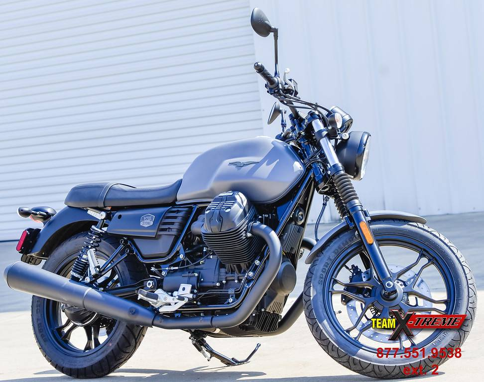 2019 Moto Guzzi V7 III Stone in Houston, Texas - Photo 1