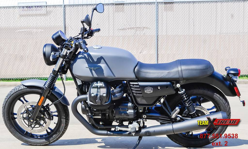 2019 Moto Guzzi V7 III Stone in Houston, Texas - Photo 7
