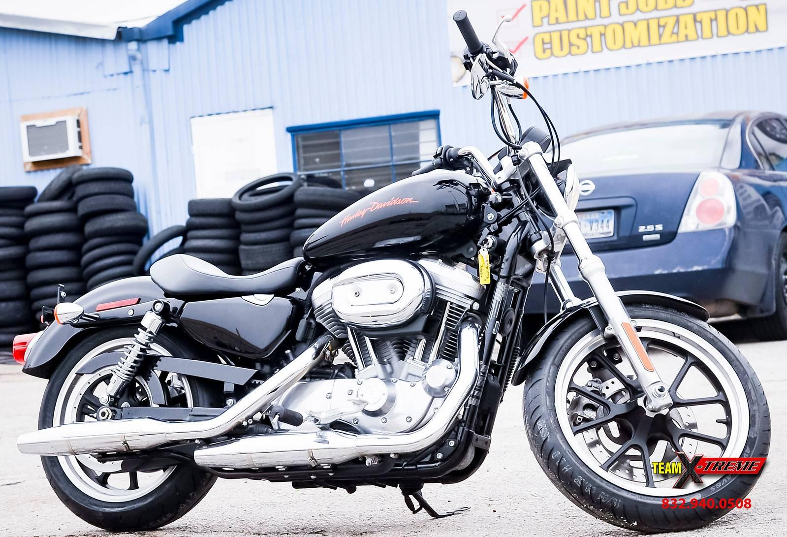 2014 Harley-Davidson Sportster SuperLow 1