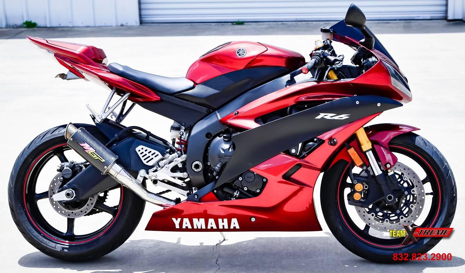 2007 Yamaha YZF-R6 3