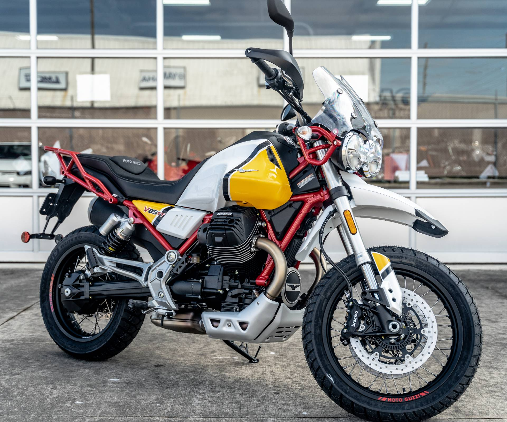 2020 Moto Guzzi V85 TT Adventure in Houston, Texas - Photo 1