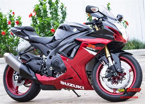 2018 Suzuki GSX-R750 in Houston, Texas