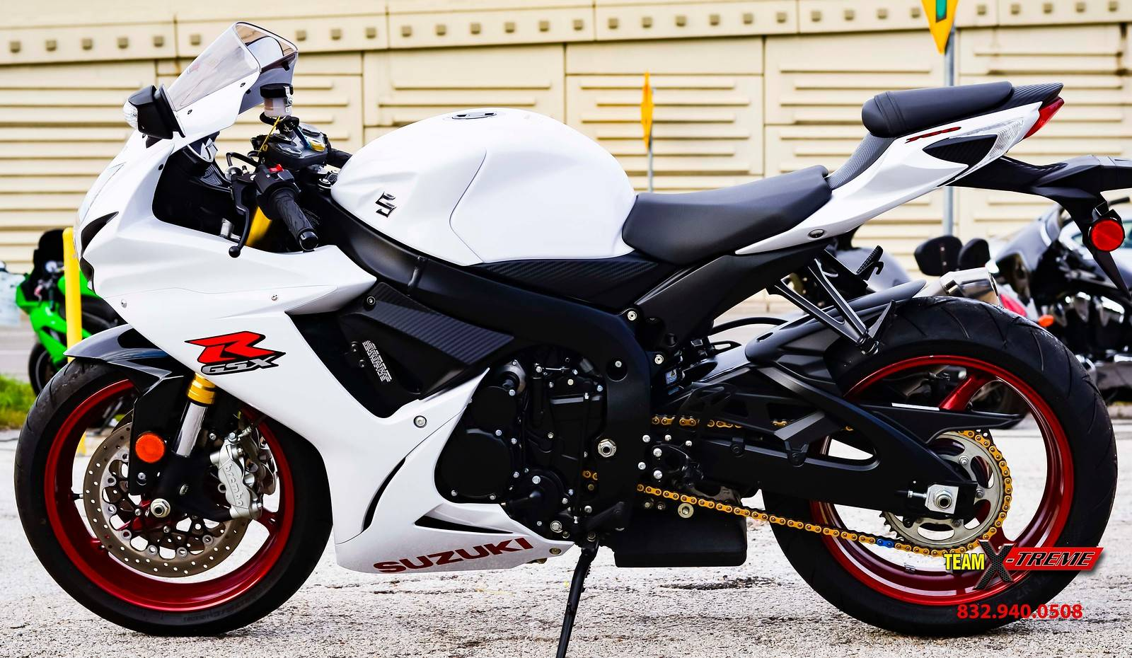 2017 Suzuki GSX-R750 in Houston, Texas