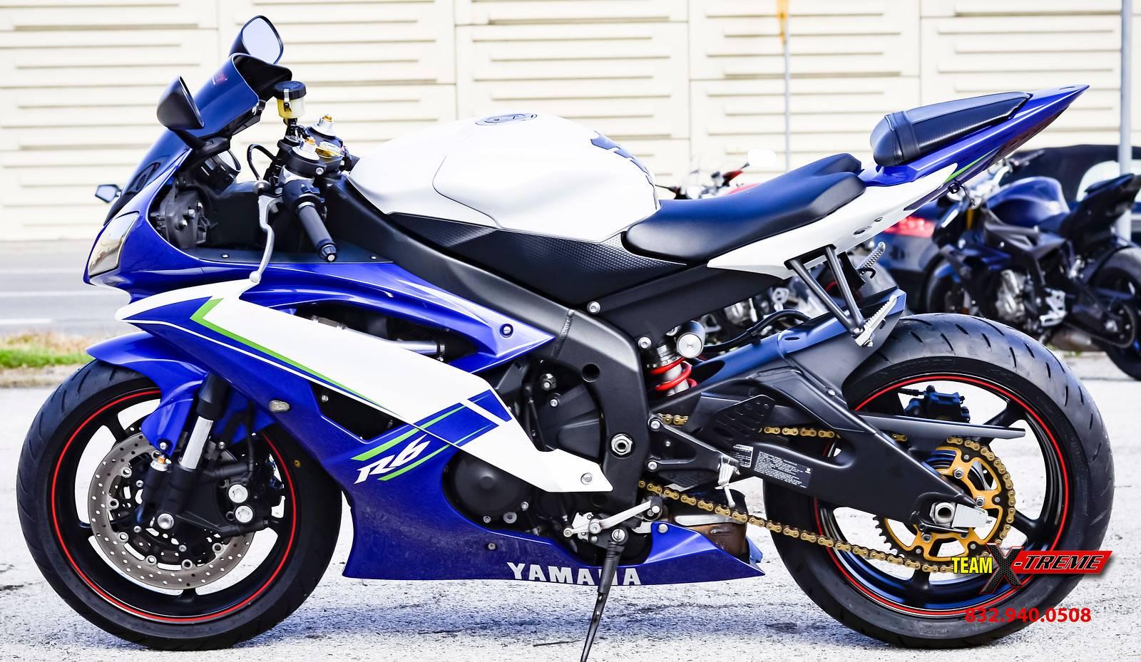 2012 Yamaha YZF-R6 7