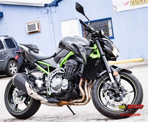 2017 Kawasaki Z900 in Houston, Texas