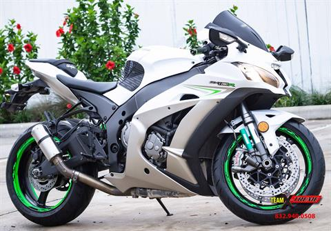 2017 Kawasaki Ninja ZX-10R in Houston, Texas