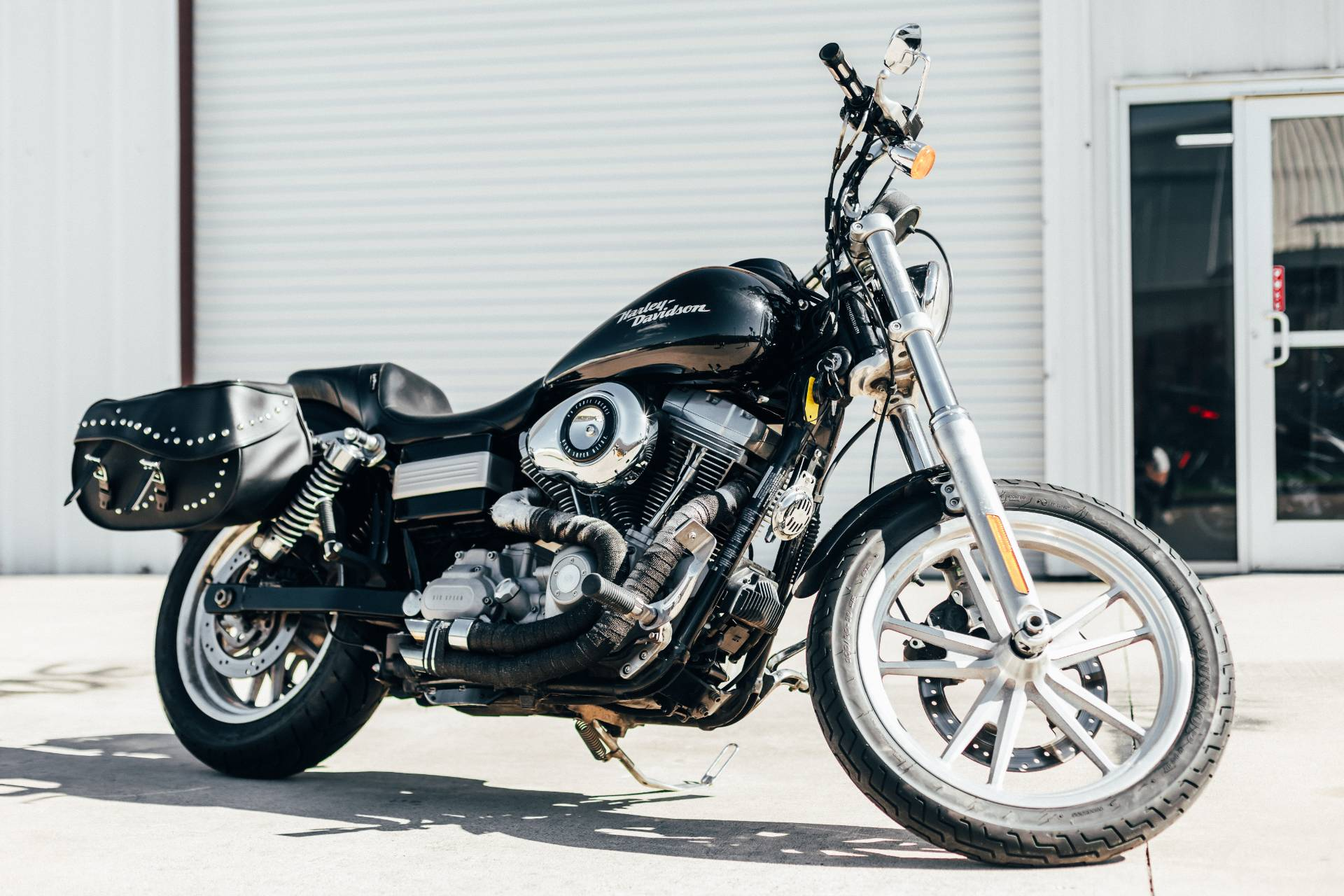Used 2008 Harley Davidson Dyna Super Glide Motorcycles In Houston Tx Stock Number 150u305109