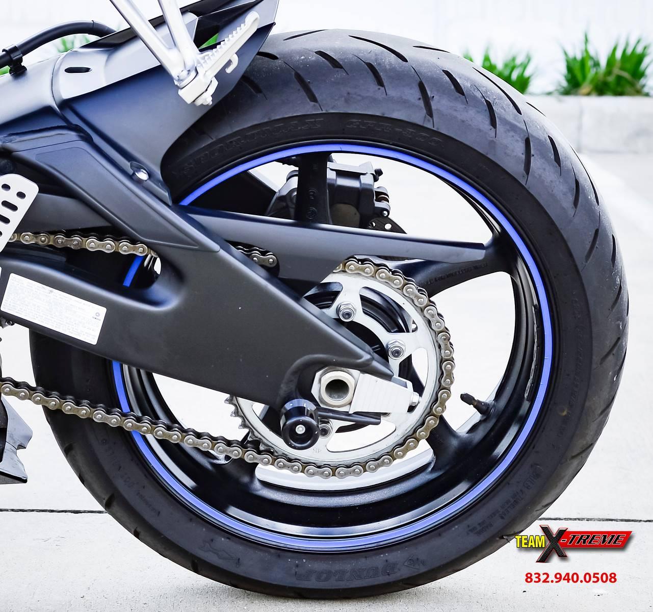 2009 Yamaha YZFR6 8