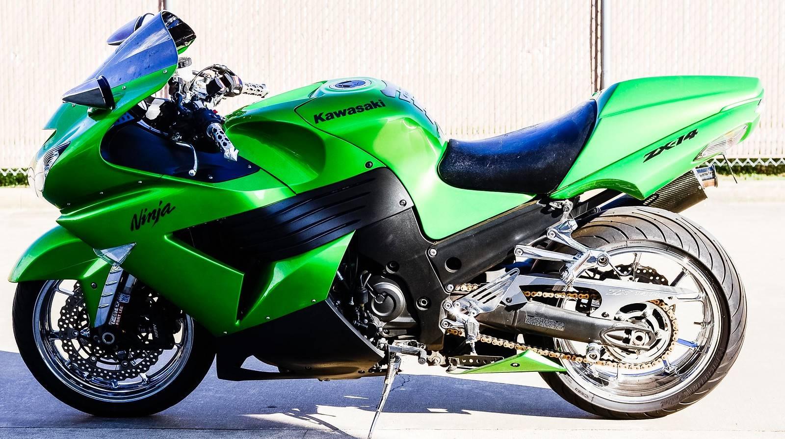 2009 Kawasaki Ninja ZX-14 7
