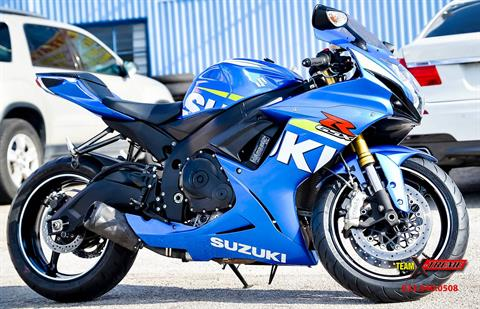 2015 Suzuki GSX-R750 in Houston, Texas