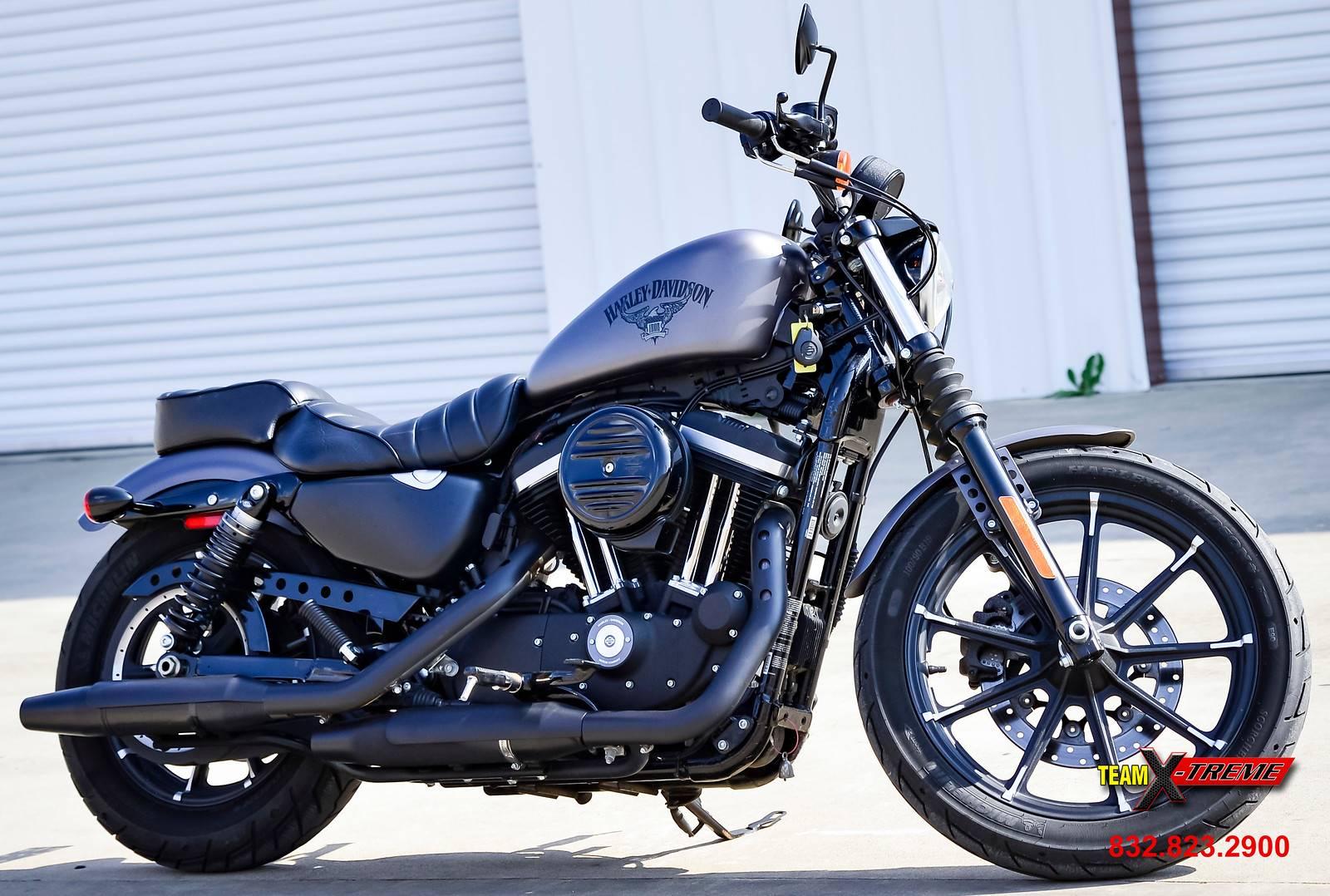 Used 2017 Harley Davidson Iron 883 Motorcycles In Houston Tx