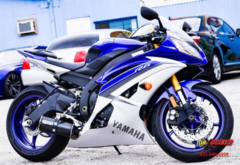 2015 Yamaha YZF-R6 in Houston, Texas
