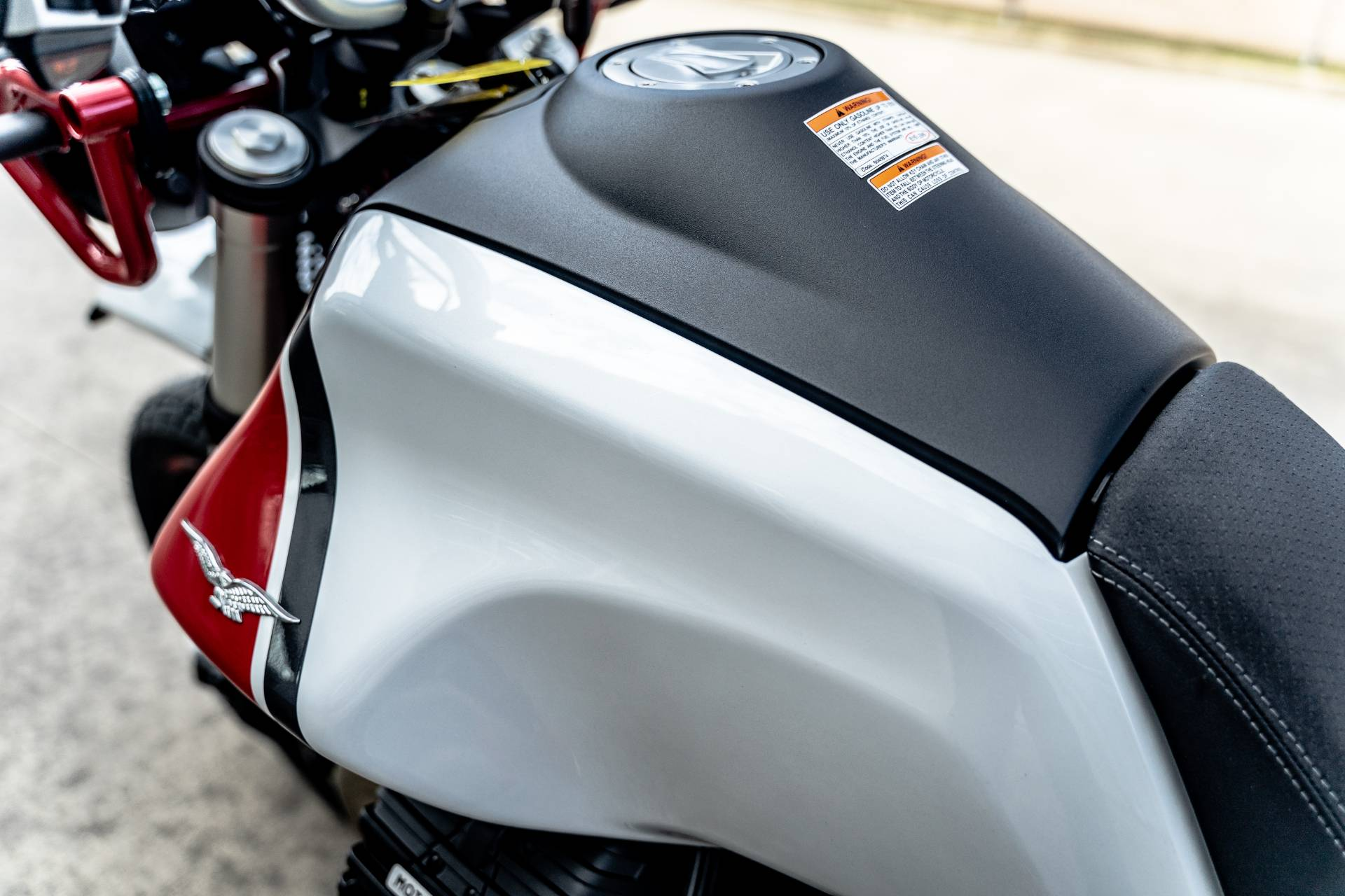 2020 Moto Guzzi V85 TT Adventure in Houston, Texas - Photo 17