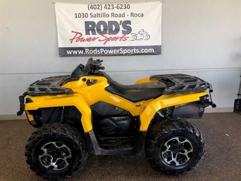 2012 Can-Am Outlander™ 800R XT  in Roca, Nebraska