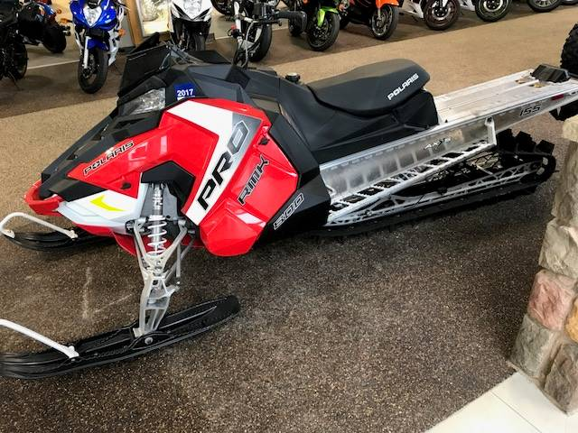 2017 Polaris 800 PRO-RMK 155 ES in Roca, Nebraska
