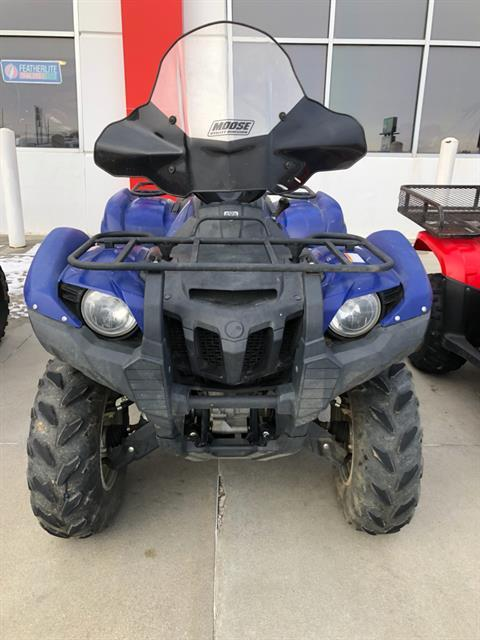 2014 Yamaha Grizzly 550 FI Auto. 4x4 EPS in Roca, Nebraska