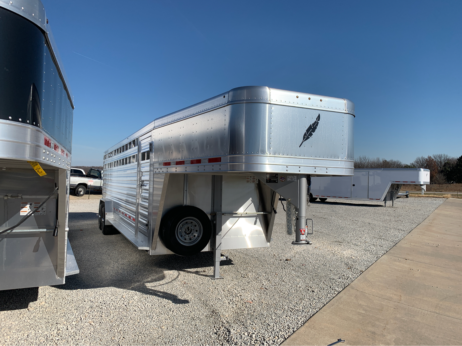 2019 Featherlite Trailers 8127-7024 in Roca, Nebraska