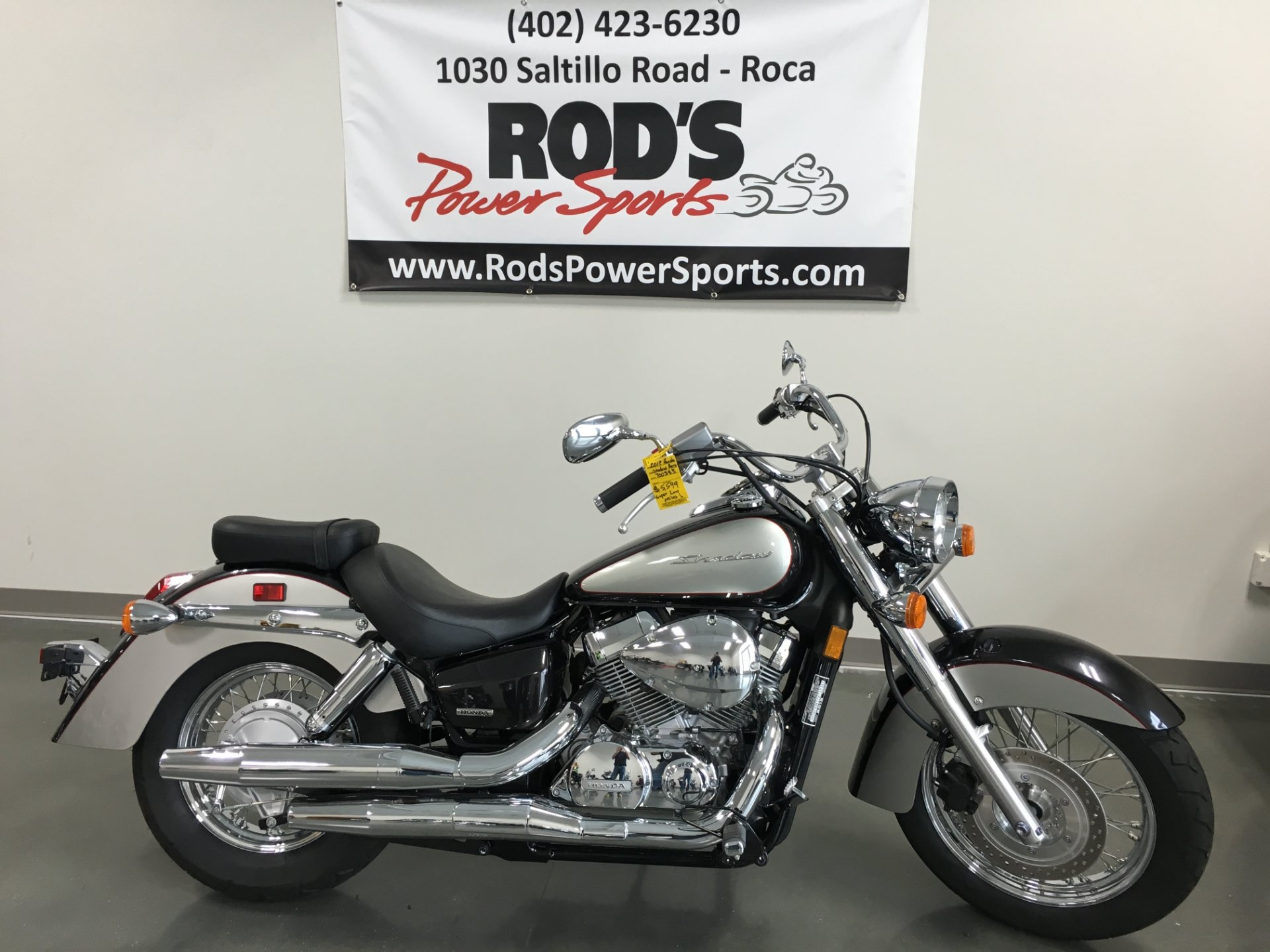 2012 Honda Shadow® Aero® in Roca, Nebraska