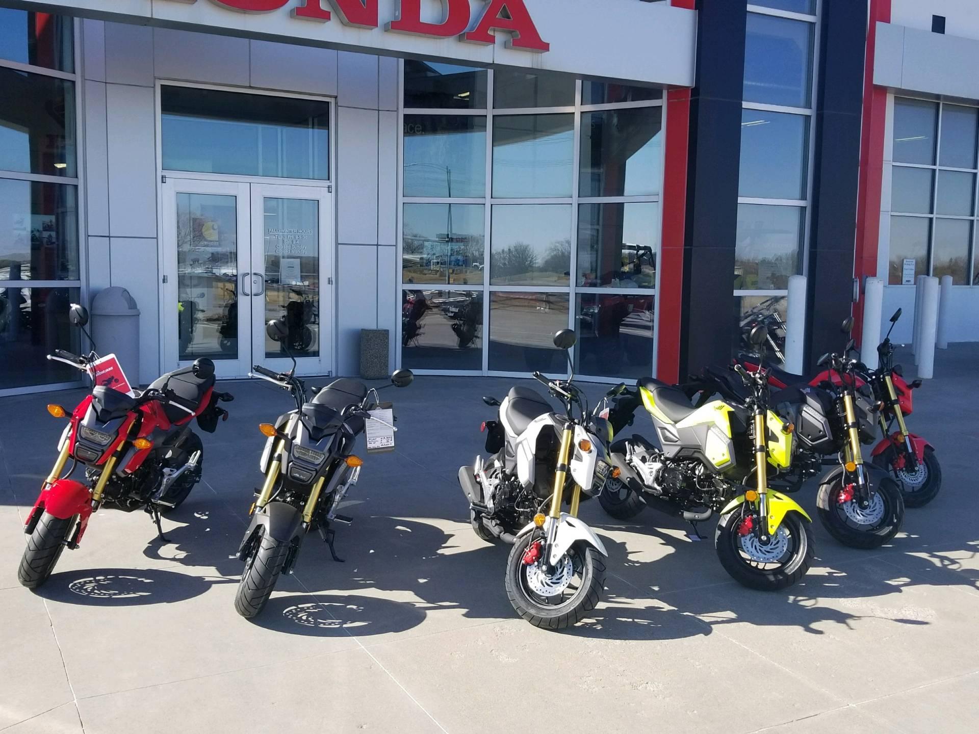 2018 Honda Grom Motorcycles Roca Nebraska 2018GROM125J