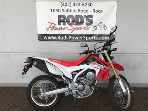2016 Honda CRF250L in Roca, Nebraska