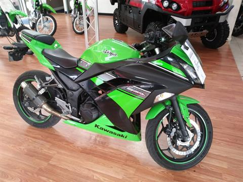 2013 Kawasaki Ninja® 300 ABS in Weirton, West Virginia