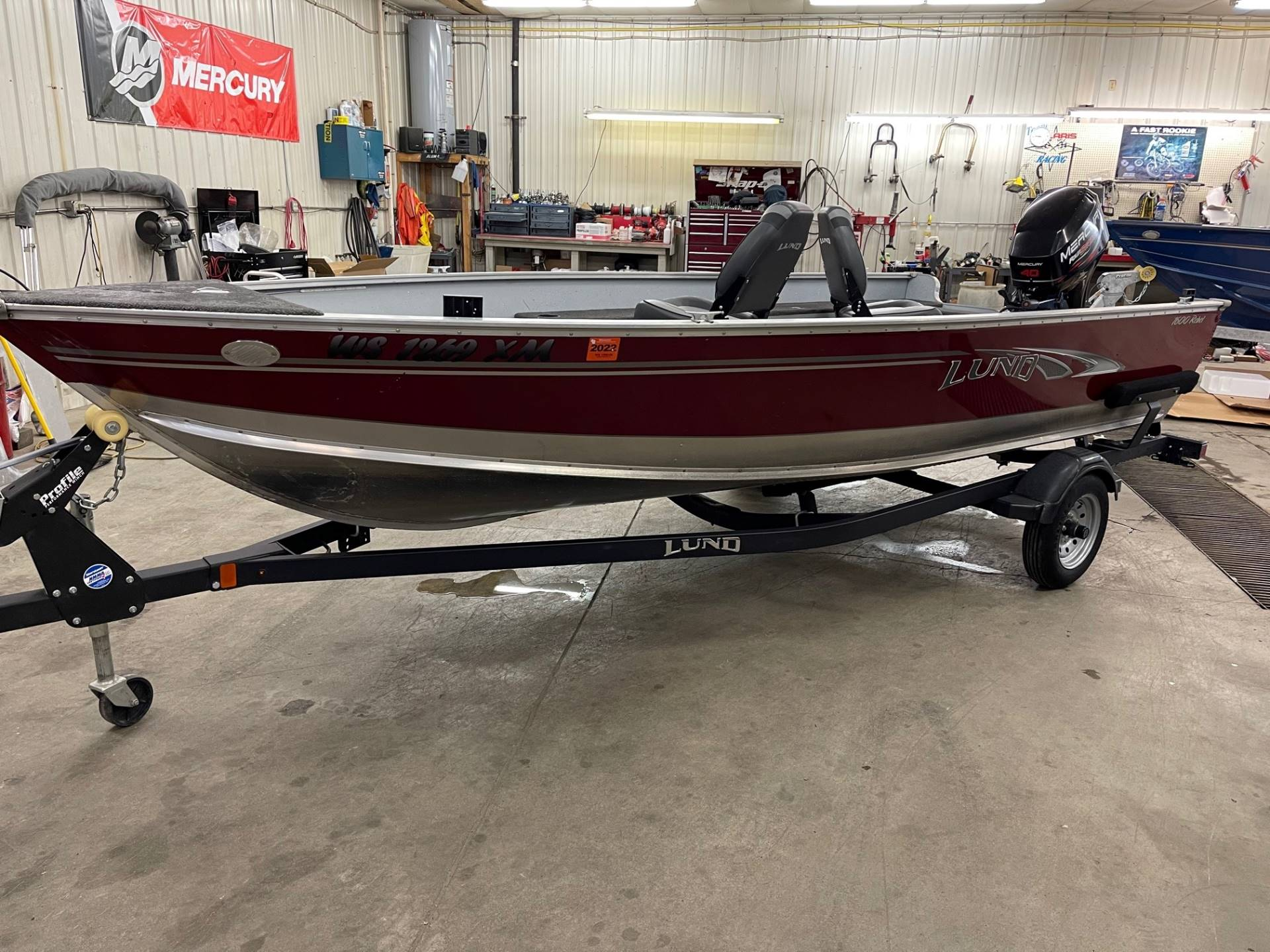 2019 Lund Rebel 1600 in Albert Lea, Minnesota - Photo 1