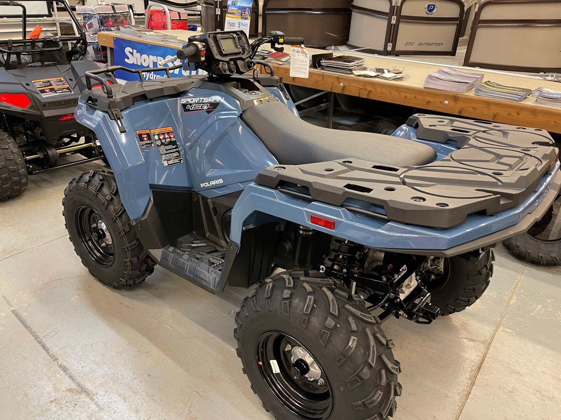 2021 Polaris Sportsman 450 H.O. in Albert Lea, Minnesota - Photo 3