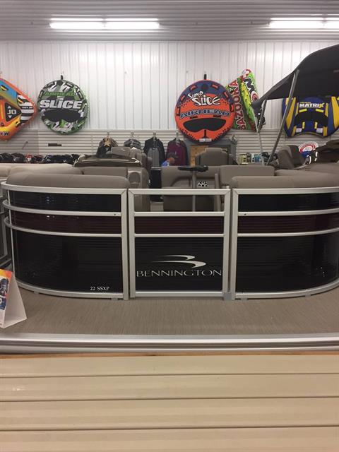 2018 Bennington 22 SSXP in Albert Lea, Minnesota