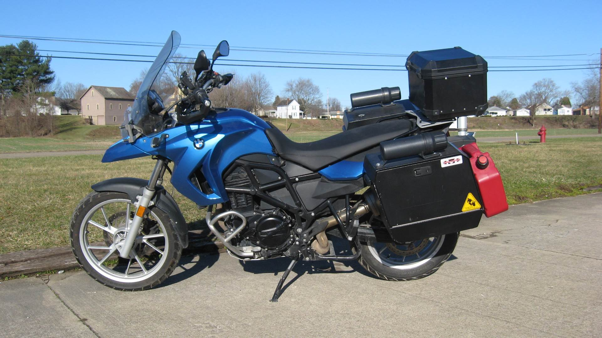 2009 BMW F650GS in New Philadelphia, Ohio